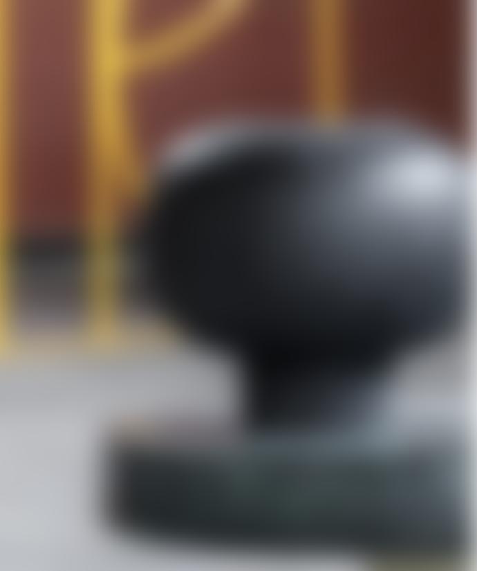 H. Skjalm P. Vase Vesuvius 14x13cm