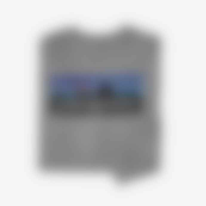Patagonia Gravel Heather Mens Long Sleeve P6 Logo Responsibili Tee