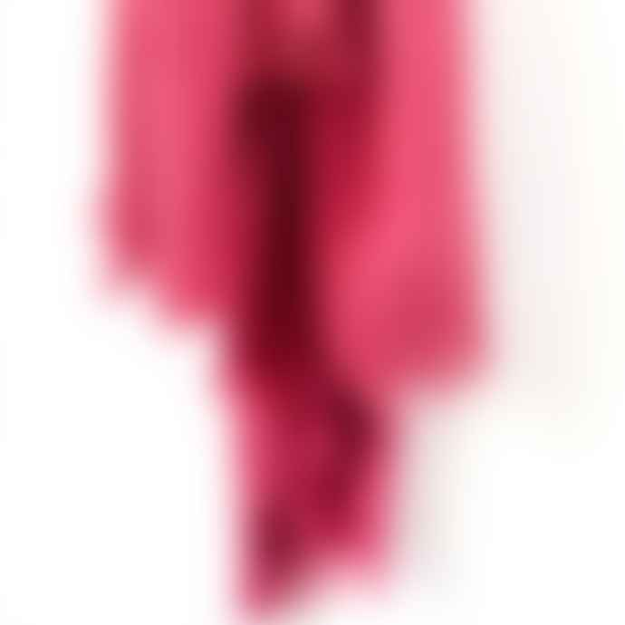 Anza Soft Cotton Scarf In Fushsia Pink