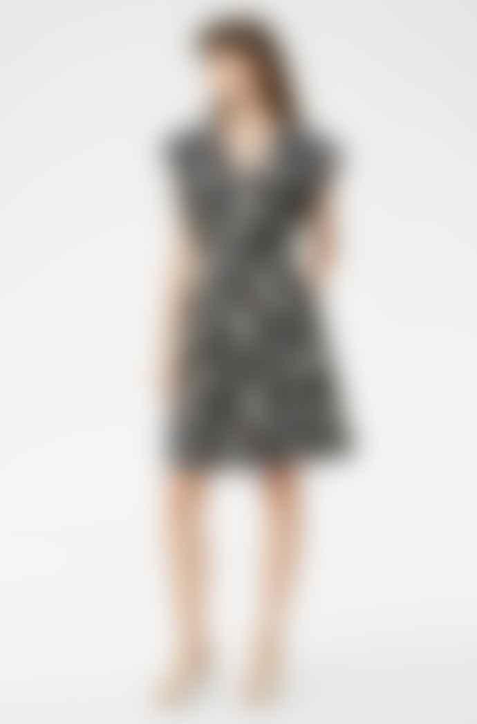 Rebecca Taylor Paisley Fleur Silk Twill Dress