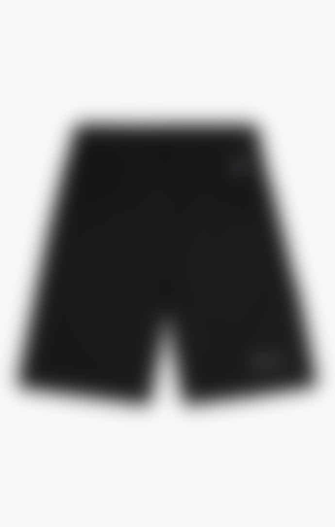 Champion Black Mesh Basketball Logo Shorts