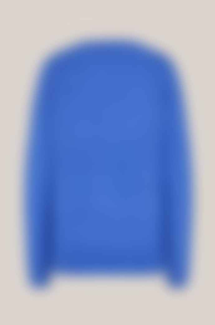 Second Female Brook Knit New O-Neck Jumper in Nebulas Blue