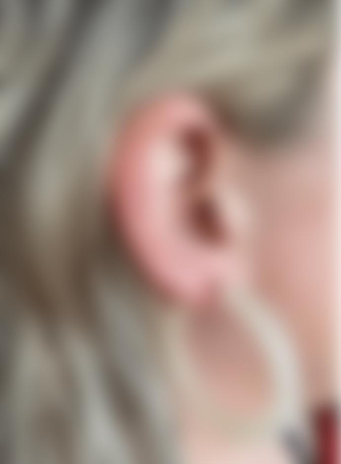 Big Metal Petra Matte Resin Large Hoop Earrings In White