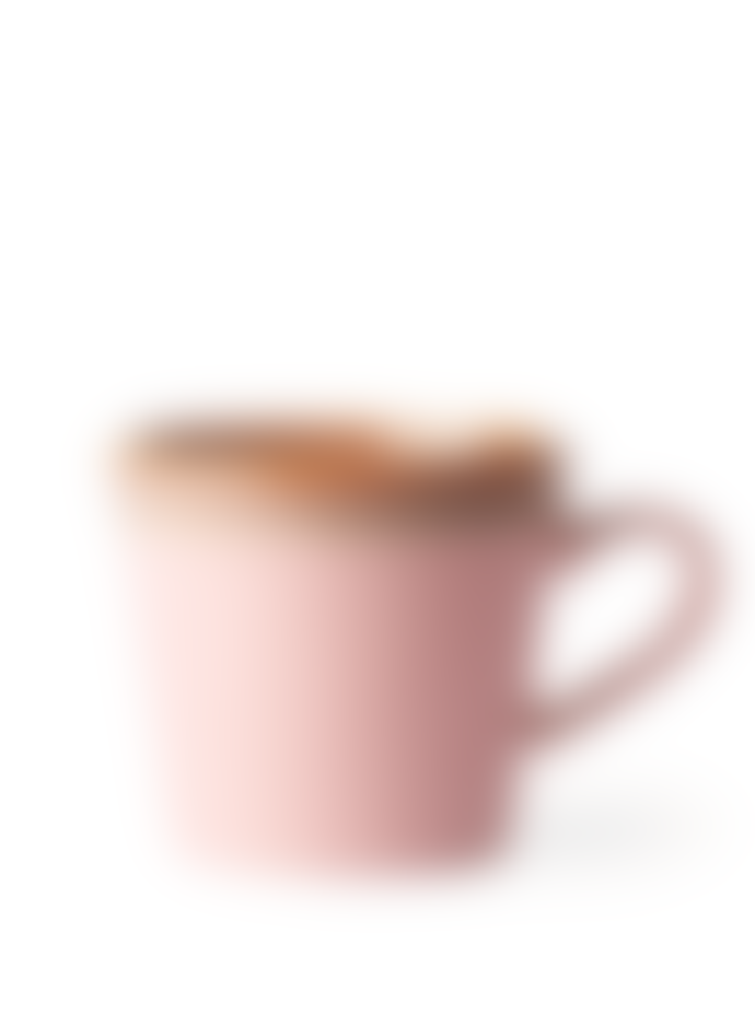 HKliving 70 S Style Cappuccino Mug Pink