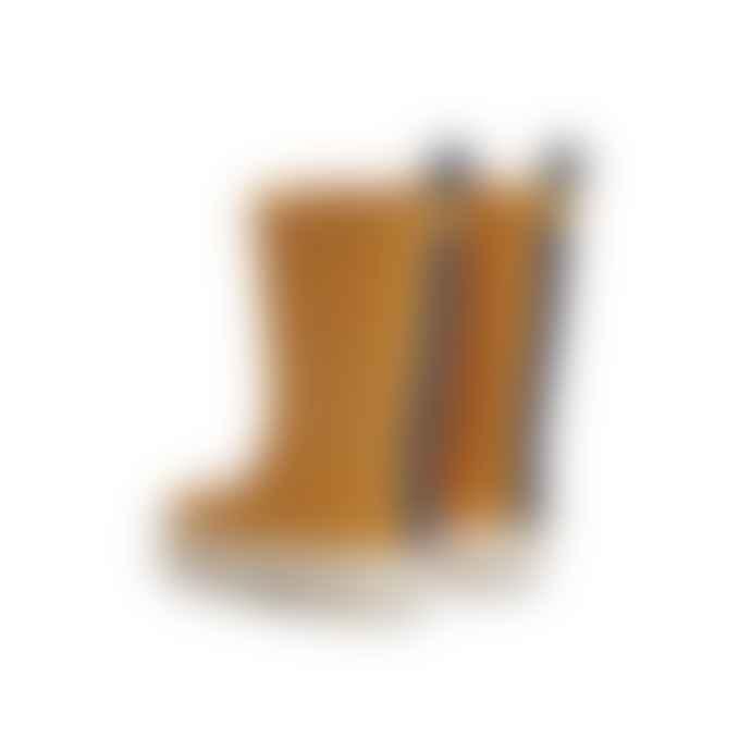 Liewood River Rain Boot - Yellow Mellow/Creme De La Creme Mix