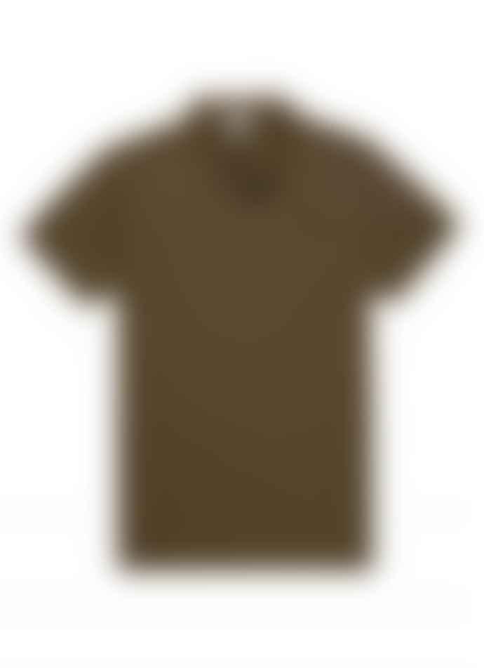 Sunspel Riviera Polo Shirt - Military Green