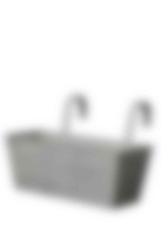 Wikholm Form Nettan Zinc Balcony Pot