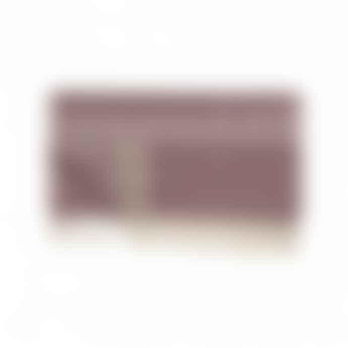 Hubsch Interior Cotton Blanket Red 140x200cm