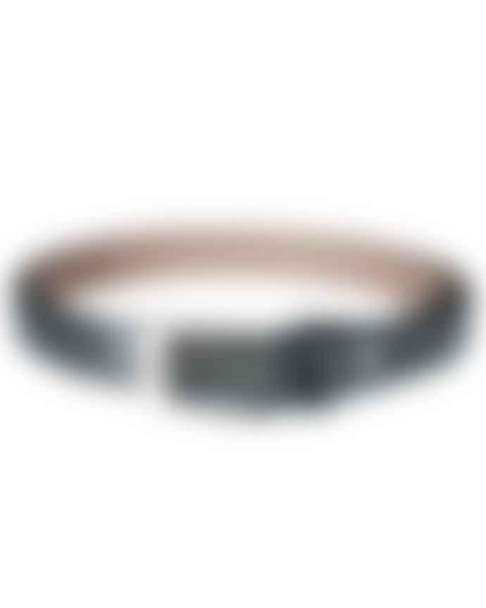 Fioriblu Metallic Leather Belt