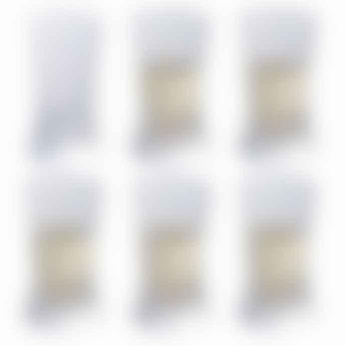 Dartington Crystal Set of 6 Sloped Sided Heavy Weight Shot Glasses