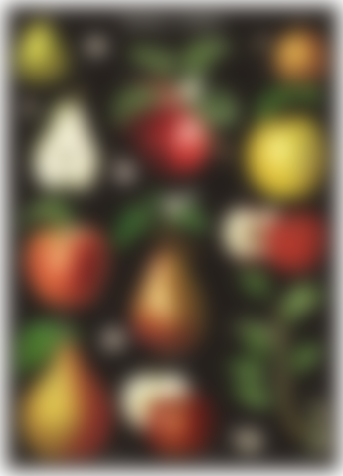 Cavallini & Co Apples & Pears Poster