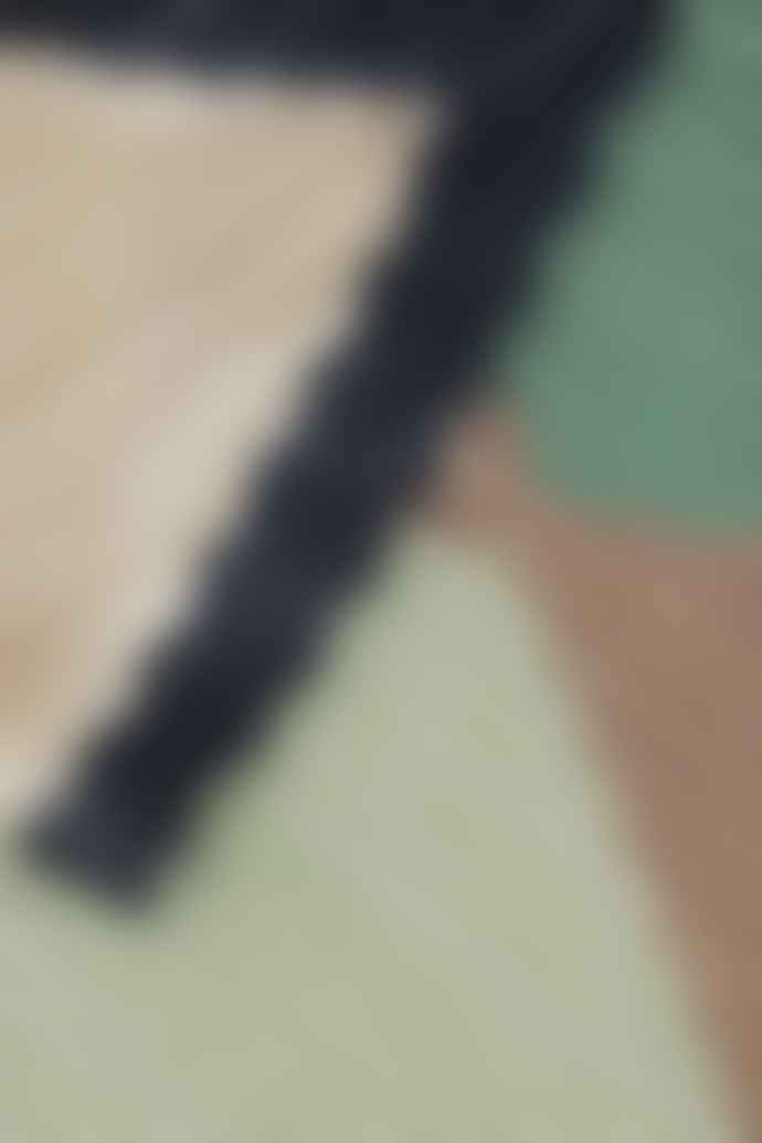 ICHI Malachite Green Pleated Scarf