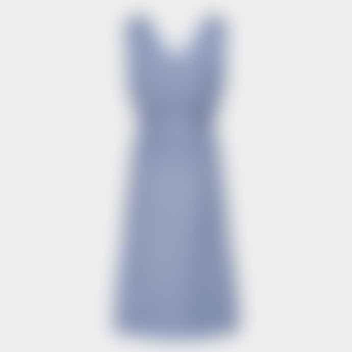 Numph Nubelladonna Airy Blue Dress