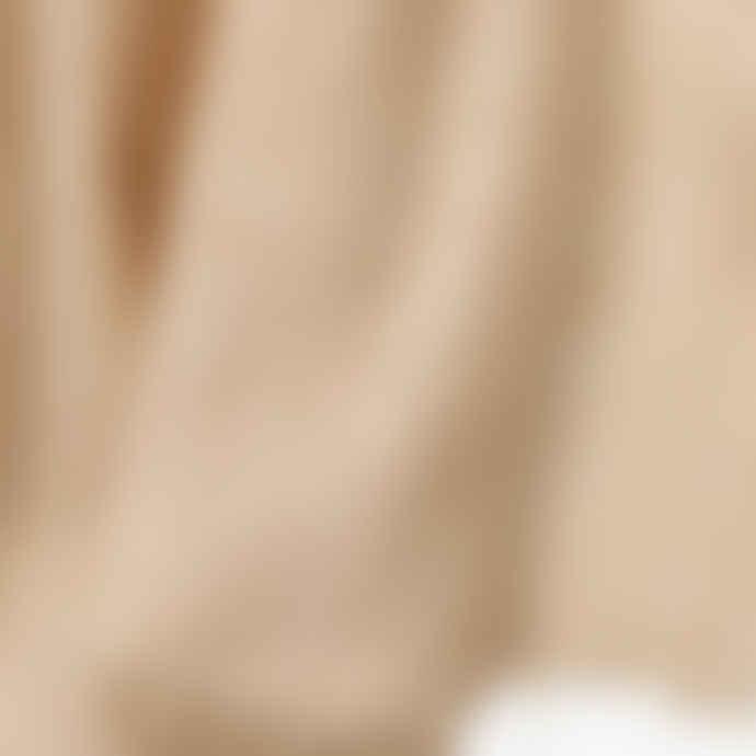 Pur Schoen Light Beige Hand Felted Cashmere Soft Scarf