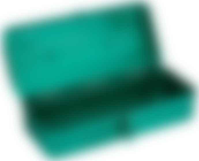 Trusco Caja De Herramientas Pequena Verde