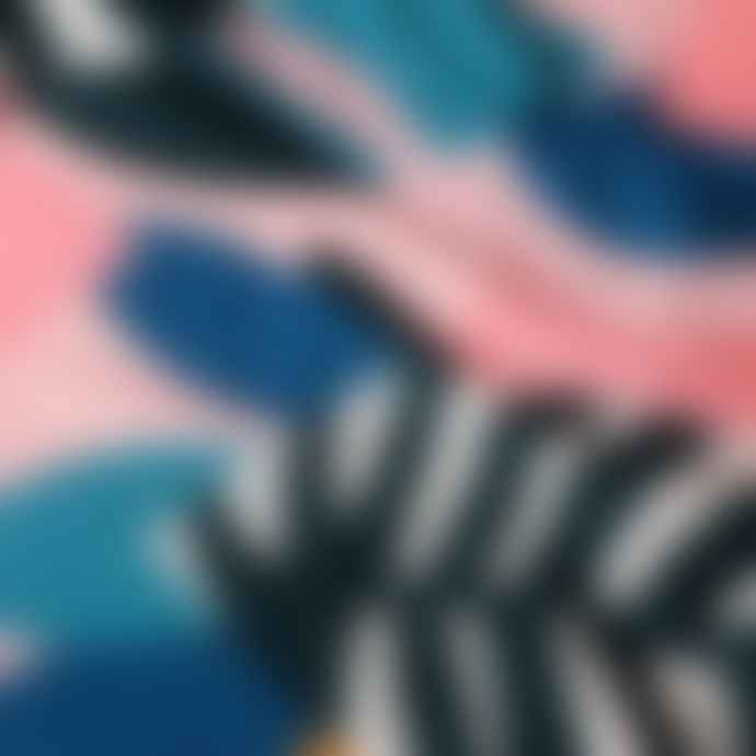 dedicated Collage Leaves Klinte Wrap Swimsuit