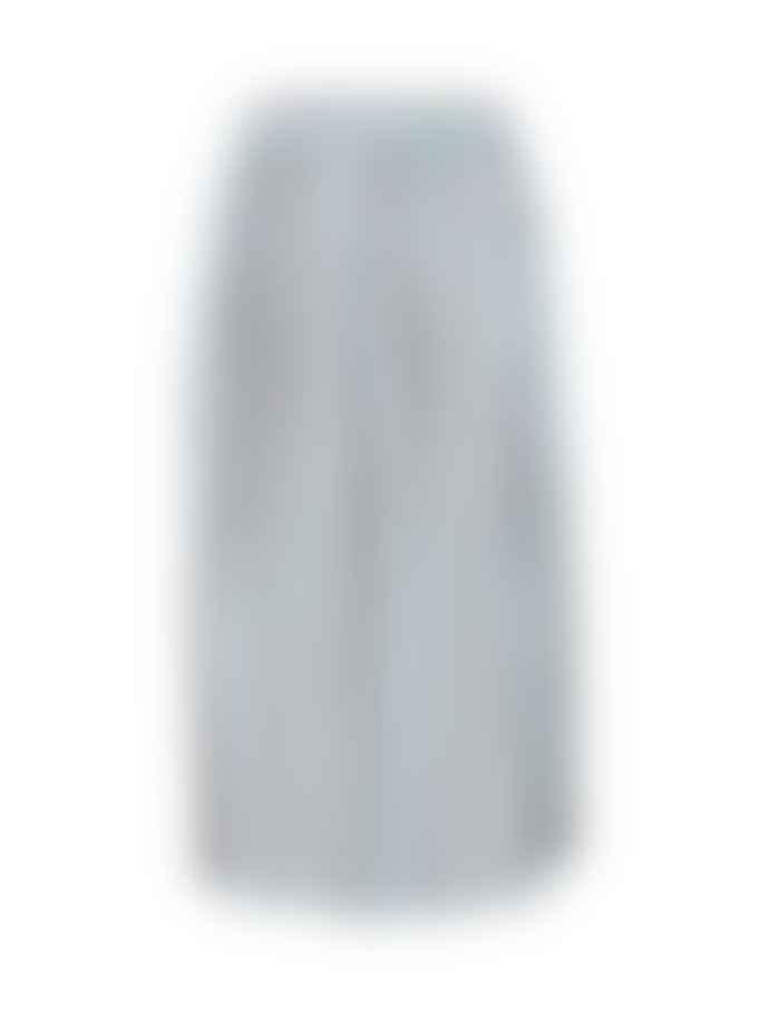 ICHI Fabrizia Skirt Cool Blue