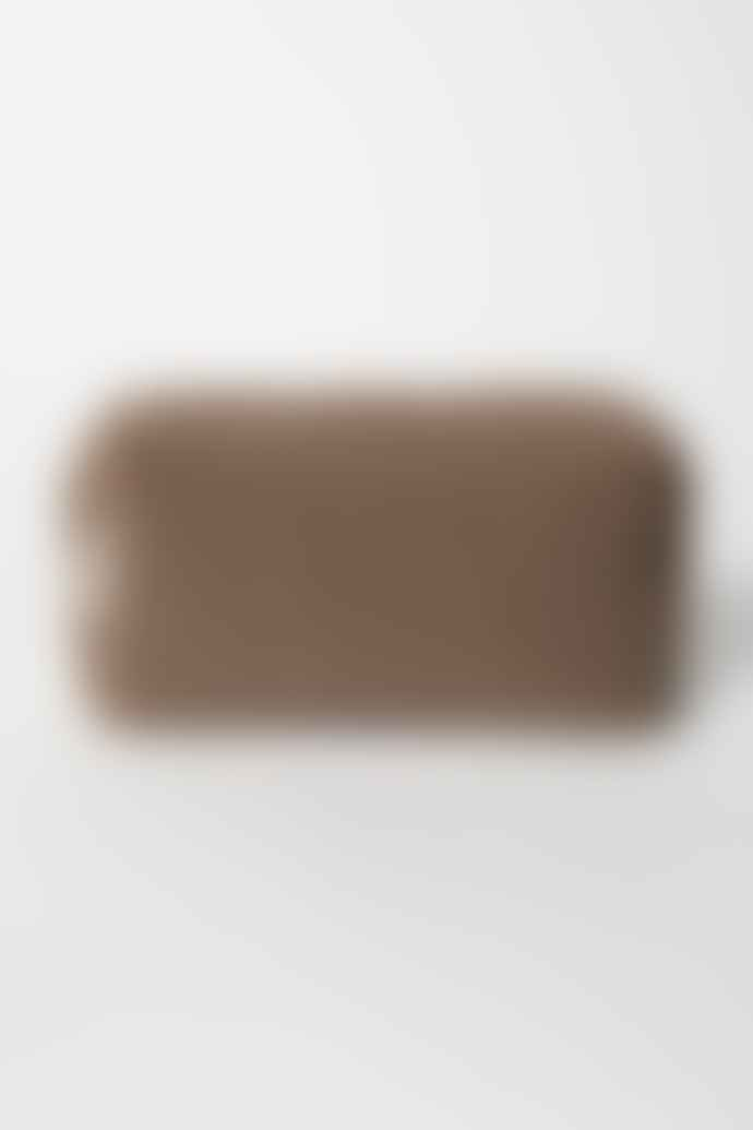 Studio Noos Brown Chunky Teddy Pouch
