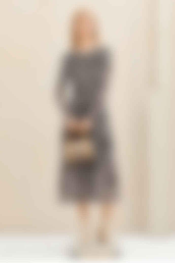 Baum und Pferdgarten Jocelina Dress -Black Tiger Shell SUSTAINABLE