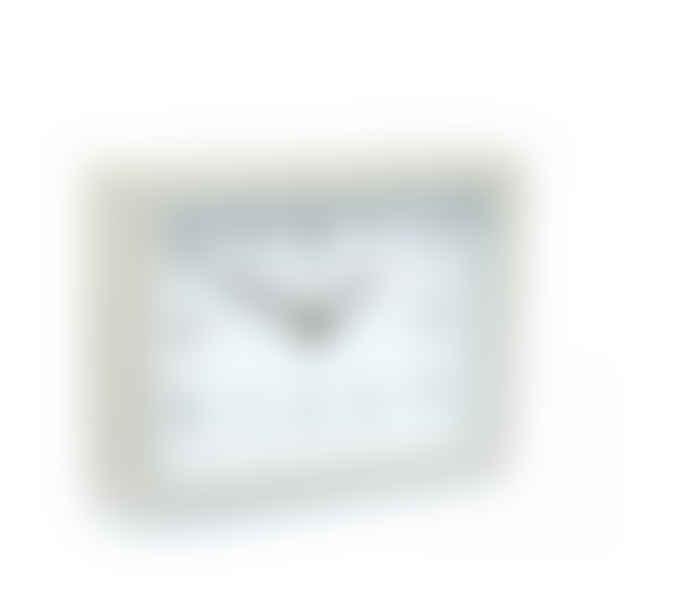 Thomas Kent Silver Birch Mantle Clock