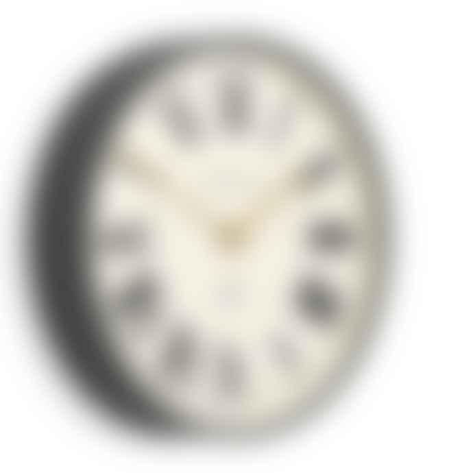 Newgate Mr Butler Grey Roman Numeral Wall Clock
