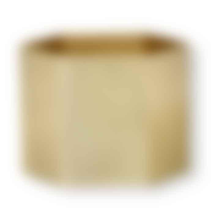 Ferm Living Hexagon Pot XL Brass