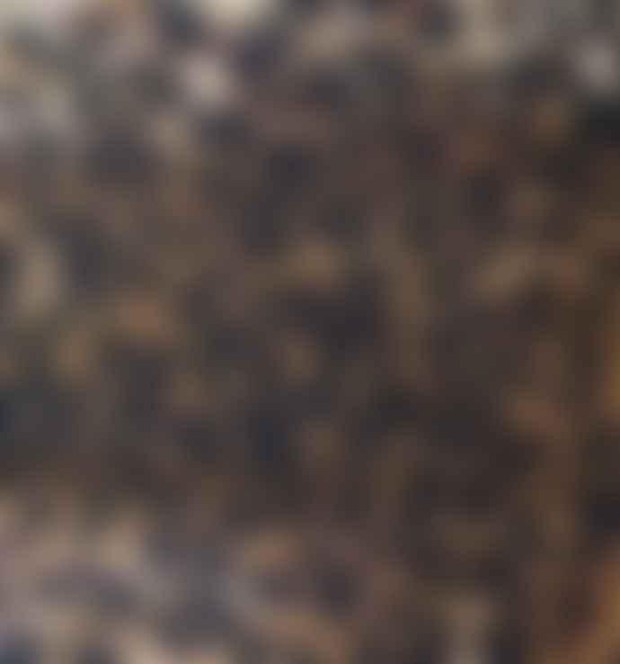 Zebra Design Mini Senegalese Face Mask - Round Model