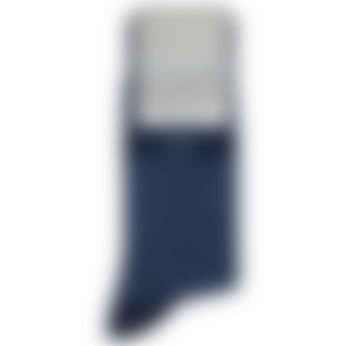 Emporio Armani  Emporio Armani Cotton Socks 3 Pack Navy Blue Stripe Multipack