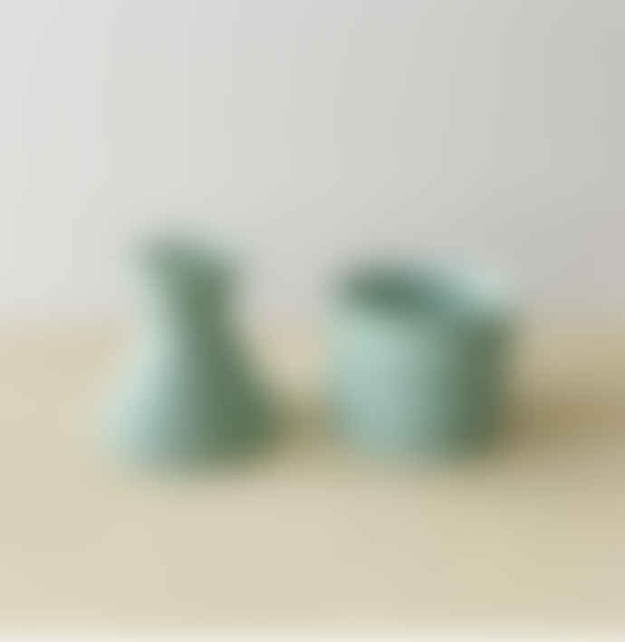 Mari Masot Mint Two Part Plant Pot