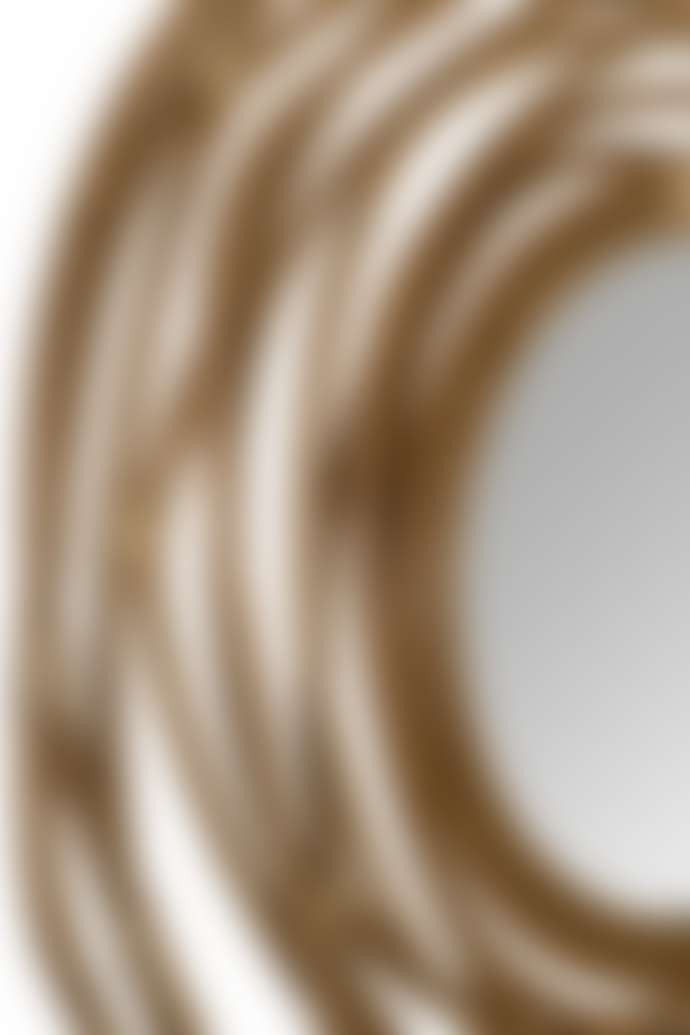 Dutchbone Kubu Circular Woven Rattan Mirror