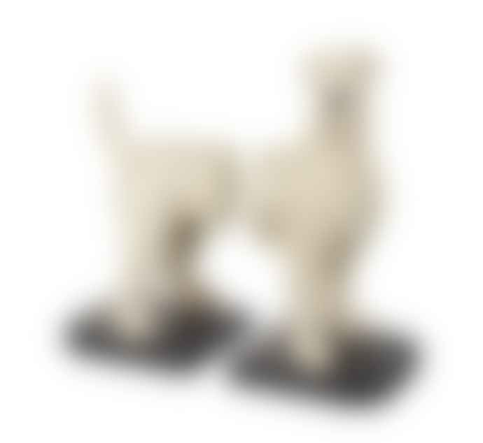 Persora Fox Terrier Dog Bookends
