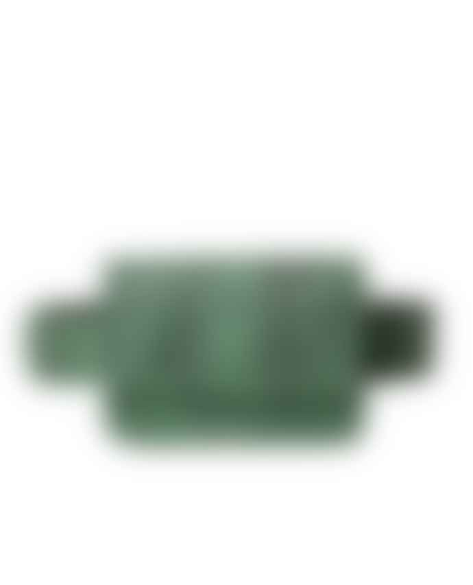 Treats Petra Green Snake Bag