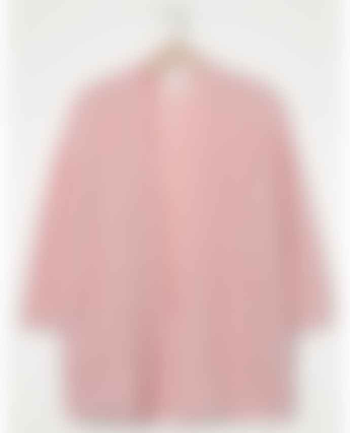 American Vintage Fogwood Rose Pink Cardigan