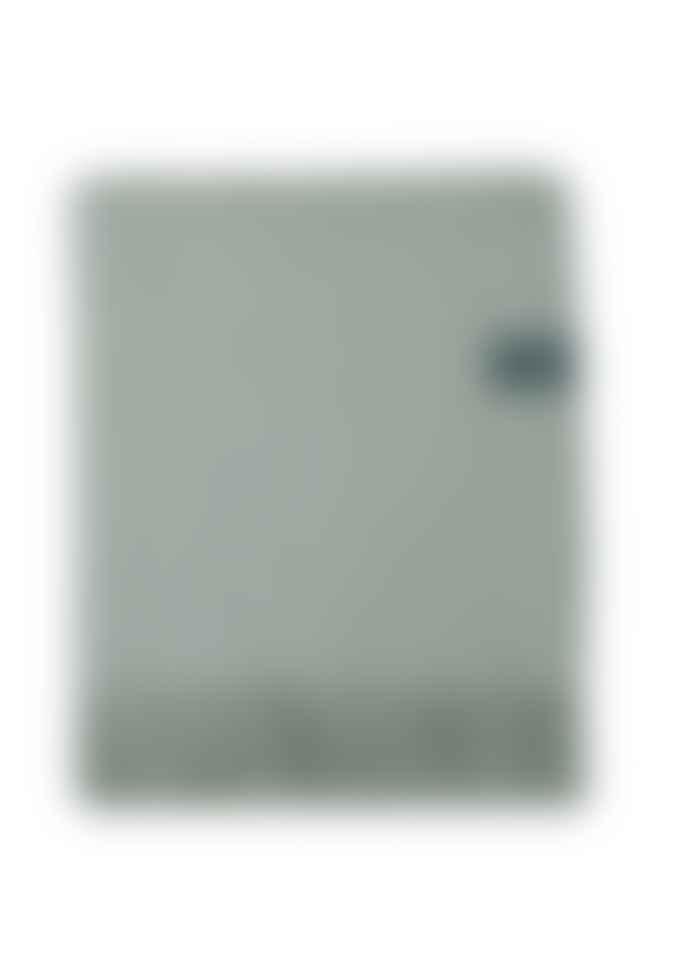 The Tartan Blanket Co. Lambswool Blanket In Quiet Grey