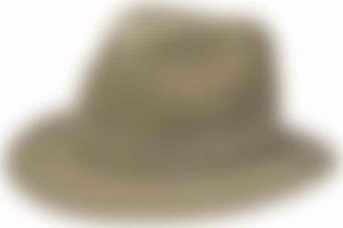 STETSON Traveller Delave Organic Cotton Hat Khaki