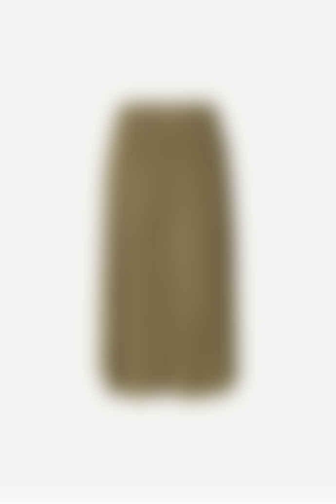 SamsoeSamsoe Khaki Uma Skirt