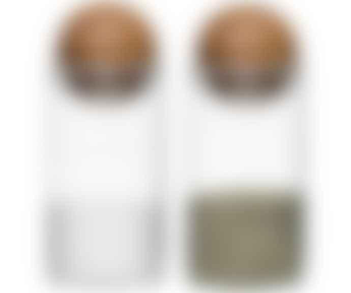 Sagaform Oval Oak Salt Pepper Set