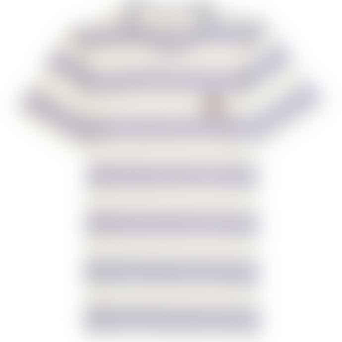 Far Afield Bold Stripe Smile Embroidery Stonewash T Shirt