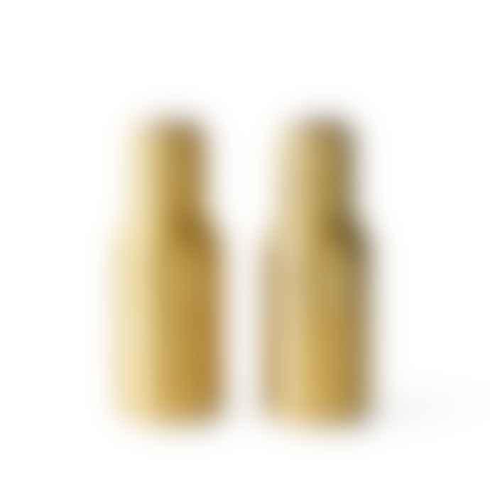 Menu Bottle Grinder Brushed Brass