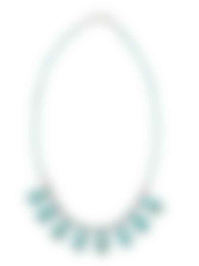 WolfWare Beaded Necklace Turquoise