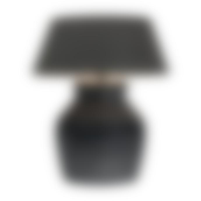 Frezoli Hamo Vase Lamp Black Brown