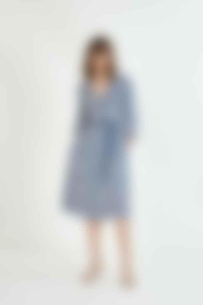 SUNCOO Carmela Print Midi Dress