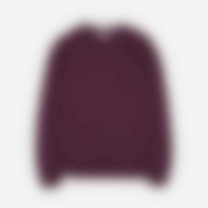 Makia Clothing Jersey Nordic Knit Wine