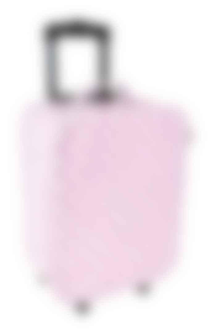 Jabadabadoo Pink PVC Suitcase with Wheels