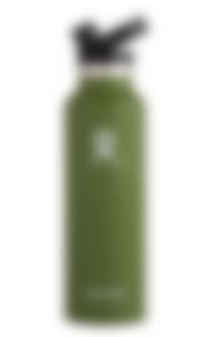 Hydro Flask Olive 21 Oz Cap Sport Bottle