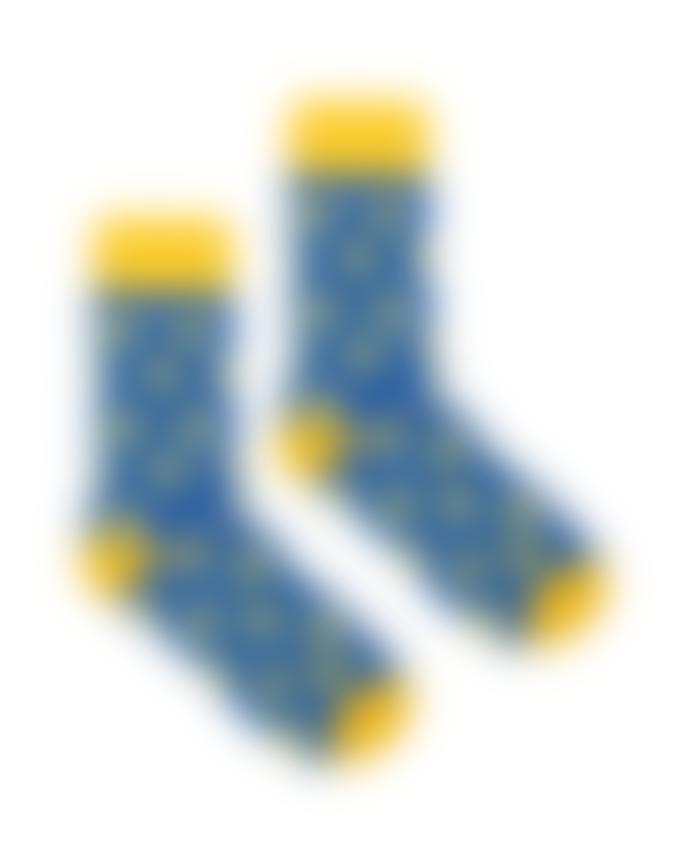 Kabak Ducks Socks Blue