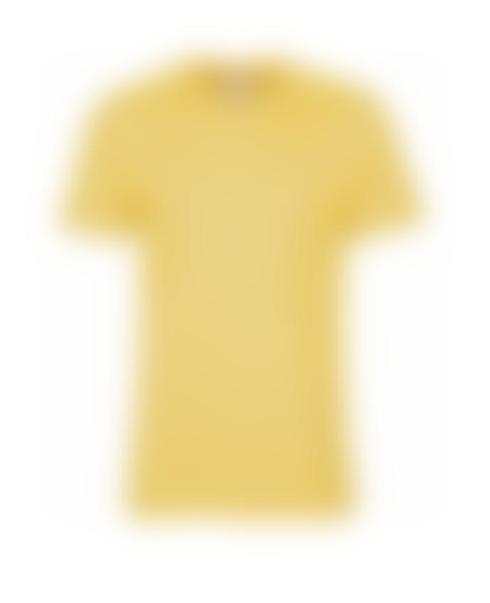 Colorful Standard T Shirt Jaune En Coton Bio Lemon Yellow