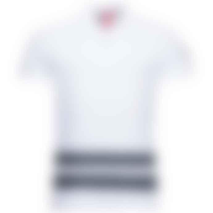 Arnold & Co White Rossignol Stripes Polo