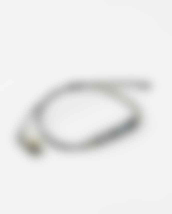 ese O ese Sparkly Black Bead Bracelet