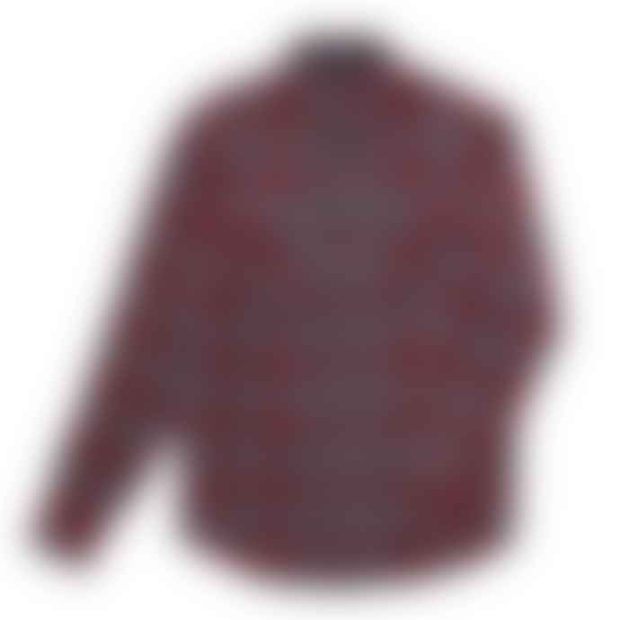 Dark Seas Red Flat Top Shirt